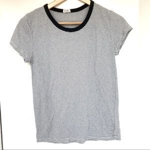 BRANDY MELVILLE Striped Tee Shirt Short Sleeve